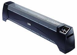 Lasko 5624 Low Profile Silent Room Heater, Black