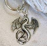 GOTHIC FANTASY DRAGON KEYCHAIN Key Ring