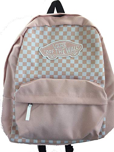 Vans Pink Classic Checkerboard Realm Backpack