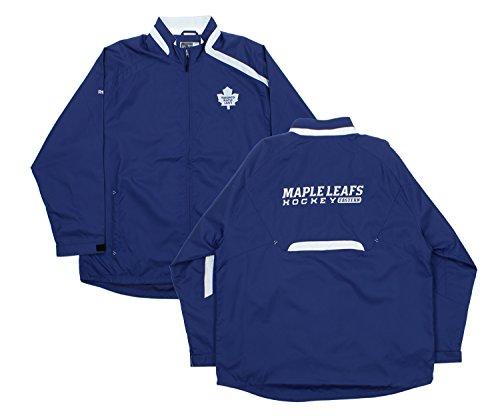 (Toronto Maple Leafs NHL Mens Brigade Lightweight Jacket, Royal)