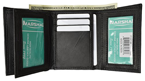Trifold Wallet Capacity Windows Marshal