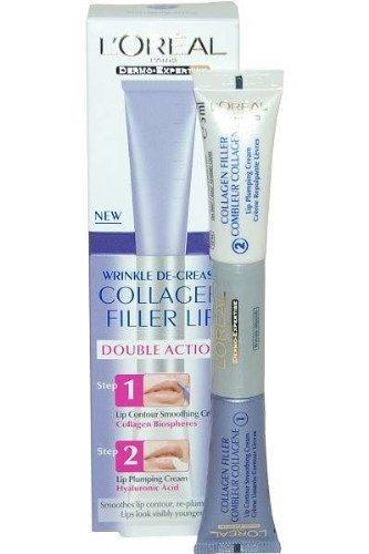 Anti-Ageing by L'Oreal Paris Collagen Filler Double Action Lip Wrinkle Decrease 2 x 5ml
