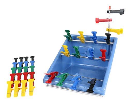 Fabrication Enterprises 10-0840 Graded Pinch Finger Exerciser Complete Set by Fabrication Enterprises