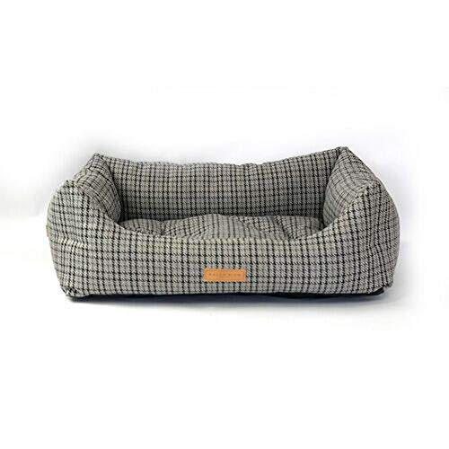 Ralph & Co Henley Tweed Fabric Nest Dog Bed (L) (Gray)