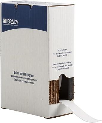 Brady BM71C-1000-854-WT ToughWash Metal Detectable Material for the BMP71