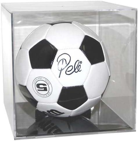 Balón de fútbol expositor cubo con Base negra Ballqube BK ...