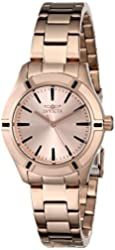Invicta Women's 18031 Pro Diver Rose Gold-Tone Stainless Steel Watch