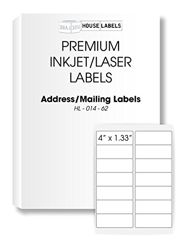 Ships Fast 200 Sheets; 2,800 Labels, 14-UP, Address/Mailing Labels (4.0