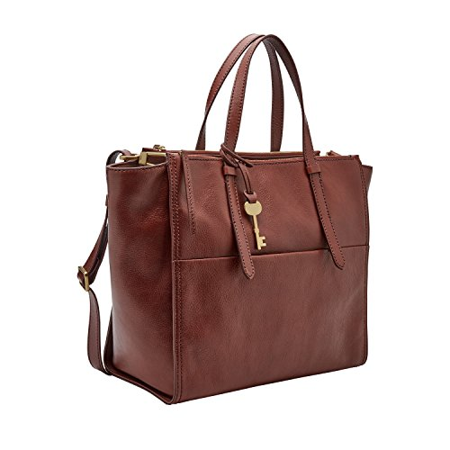 Fossil Campbell Tote Bag Henna