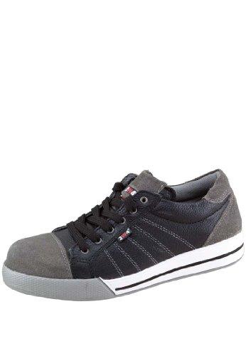 2W4 RYAN Halbschuh EN345 S3 schwarz/grau Sicherheitsschuhe Sneaker