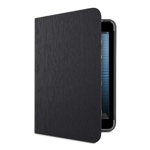 Belkin FormFit Textured Cover/Case for iPad Mini 3, iPad Mini 2 with Retina Display and iPad Mini (Blacktop) ()