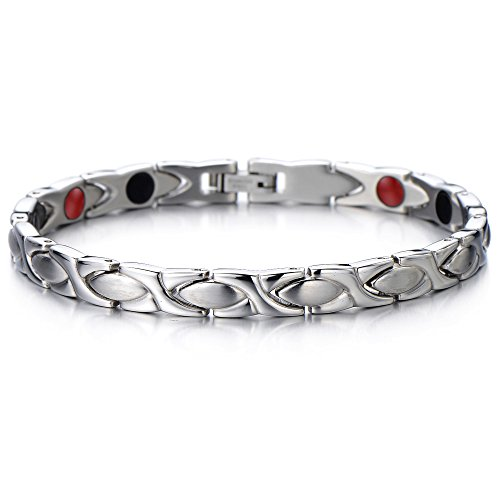 steel-ladies-magnetic-bracelet-with-magnets-germanium-negative-ion-far-infrared-free-link-removal-ki