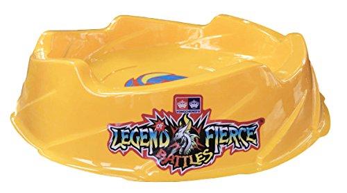 - Beystadium Battle Arena Metal Fusion Stadium Super Vortex Burst Beystadium (Yellow Color )