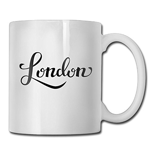 Jingclor London Life Element 11 Ounces Coffee Mug Novelty Ceramic White Tea Cup Coffee/Tea Cup Gift For Father's Day Or Friend,Mother,Birthday -