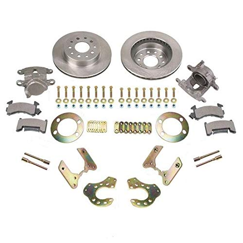 Complete Rear-End Bolt-On Rear Disc Brake Kit Conversion, Universal, Fits Ford 9-Inch