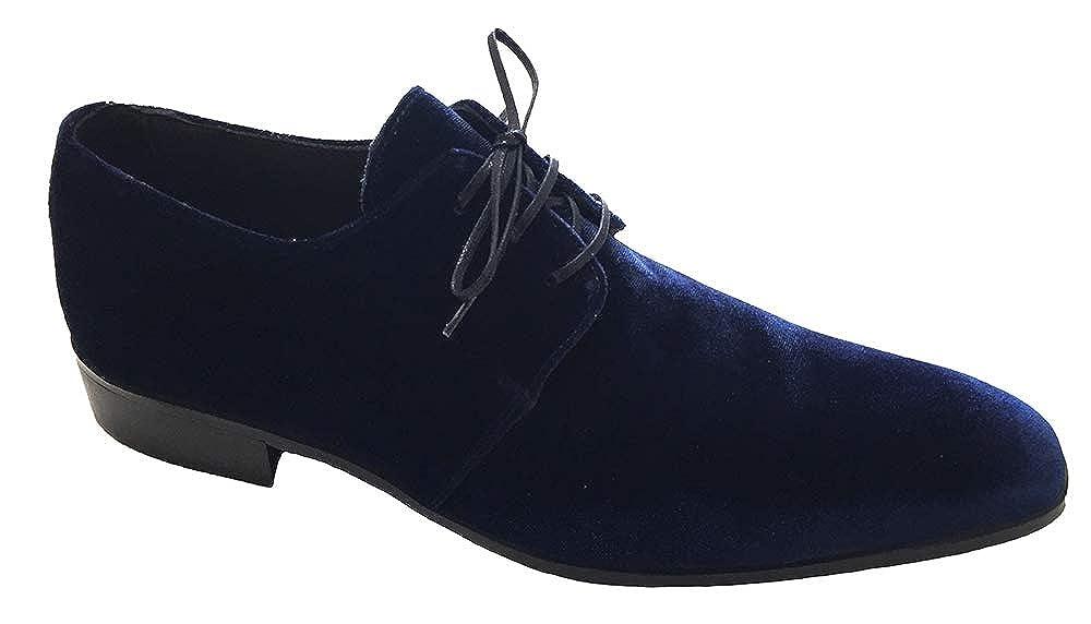 Garofalo dunkelblau Gianbattista stringato, Herren Schnürhalbschuhe dunkelblau Garofalo - e47c04