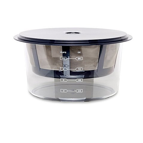 Euro Cuisine Greek BPA-free, Stylish, Efficient Yogurt Maker with Stainless Steel Strainer- Includes Catch Container, Strainer, Lid, and Recipe Book