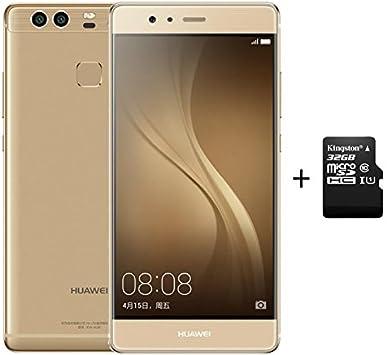 Huawei P9 4GB RAM 64GB ROM Smartphone Oro + 32G C10 SD Memory Card ...