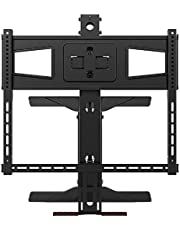 Deal on Monoprice Above Fireplace Pull-Down Full-Motion TV Wall Mount. Discount applied in price displayed.