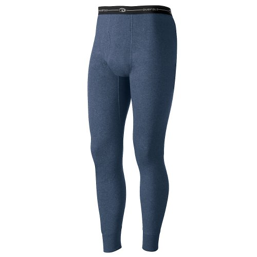 Duofold by Champion Originals Wool-Blend Men's Thermal Pants_Blue Jean_Large