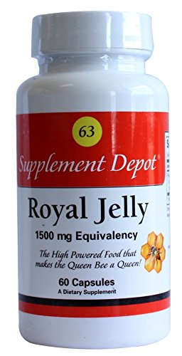 Nutrition Depot Royal Jelly 63 - 60 capsules