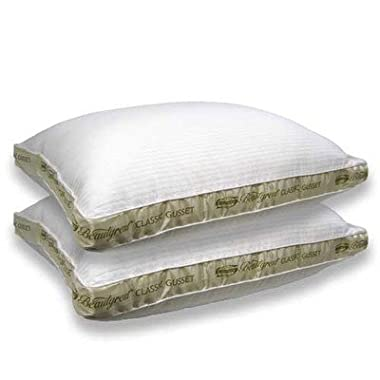 Beautyrest Extra Firm Pillow for Back & Side Sleeper, Two Pack, Queen Size