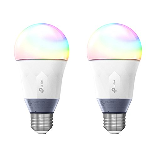 TP-Link Smart WiFi LED 11W Bulb Color Changing Hue & Voice App Control (2 Pack) by TP-Link