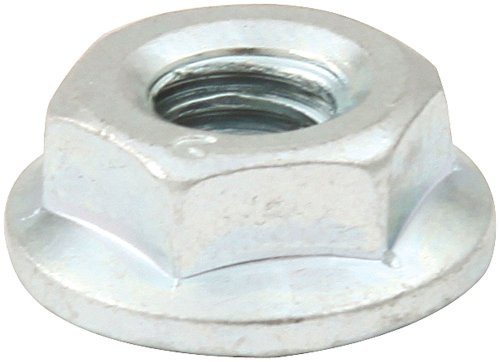 Allstar Performance ALL18557 Silver Spin Lock Nut, (Set of 10)