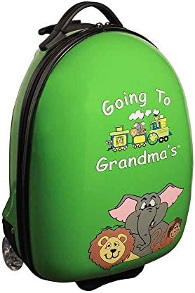 Children s Carry-on Luggage in Green