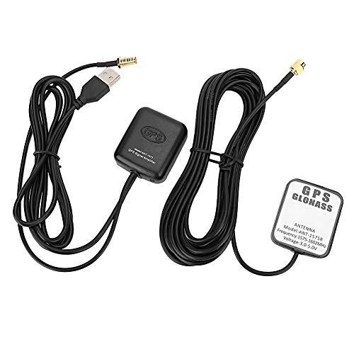 GPS Antenna,ANT-1573 Car GPS Signal Amplifier Aerial Antenna Auto Navigation Receiver