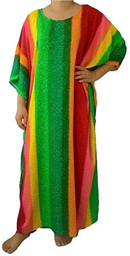trendyloosefit-womens-plus-size-loose-fit-dress-kaftan-caftan-rayon-rainbow-green