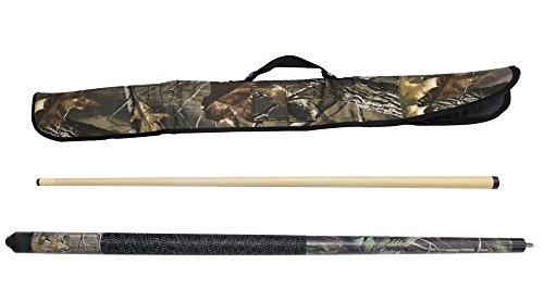 Viper Realtree 19 oz Ap Green Camo Cue with Soft Hardwoods HD Camo Case
