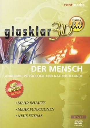 Glasklar 3D V8.0 - Der Mensch: Amazon.de: Software