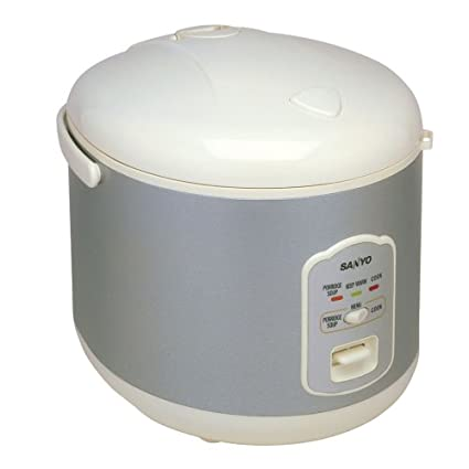 amazon com sanyo ecj n55w 5 1 2 cup uncooked electric rice cooker rh amazon com