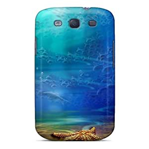Galaxy Cover Case - Starfish In The Ocean Protective Case Compatibel With Galaxy S3