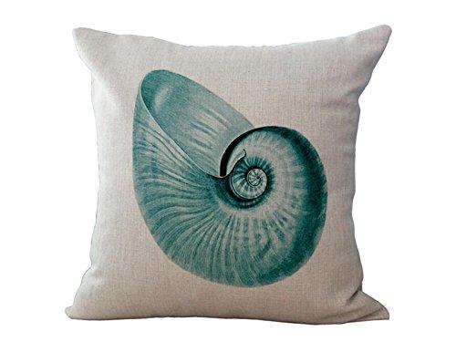 OVVO Machen Sie sch/öne Dekoration Maritime Typ Sea Animals Baumwolle Leinen Throw Pillow gehen /über Couch Fahrzeug Kissen sch/ützen