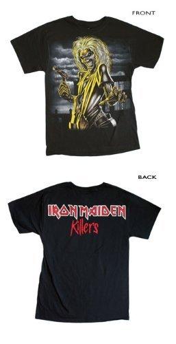 Iron Maiden Jumbo Killers Eddie Black T-Shirt (Small)