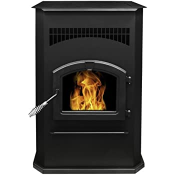 Pleasant Hearth PH50CABPS  Cabinet Style 50000 BTU's Pellet Stove with 120-Pound Hopper