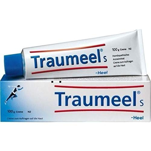 For the temporary relief of muscular pain, inflammation, sports injuries and bruising - Heel Traumeel Ointment 100 Gm Tube 100 Grams