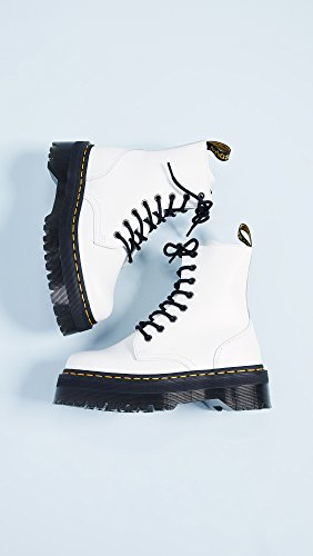 Dr Dr Leather White Leather Jadon Leather Martens Martens Dr Dr Martens Jadon Martens Jadon Jadon White White nqap7