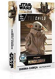Quebra Cabeça 500 Peças Nano -The Child - the Mandalorian - Star Wars, Toyster Brinquedos