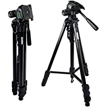 MOUNTDOG Camera Tripod 70'' Professional DSLR Aluminum Alloy Camera Travel Tripod Stand Light Weight Adjustable for Video Canon Nikon Sony Samsung Olympus Panasonic Pentax