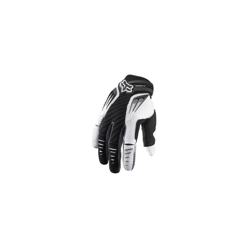 Fox Racing Platinum Gloves 2012 Medium Black Automotive