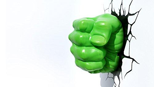 Vogueoy the avengers hulk smash night light fist 3d wall art home vogueoy the avengers hulk smash night light fist 3d wall art home lighting lamp aloadofball Images
