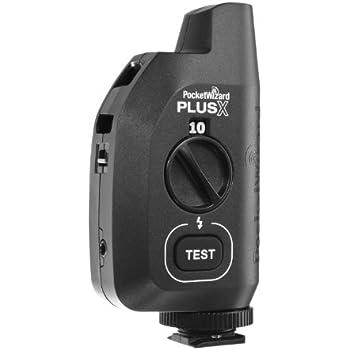 PocketWizard PlusX Wireless Radio Flash Remote Trigger