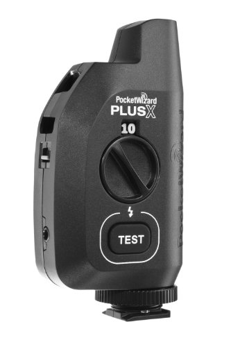 - PocketWizard PlusX Wireless Radio Flash Remote Trigger