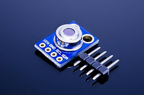 ACROBOTIC MLX90614 Infrared Thermometer IR Temperature Detector Sensor Breakout Board for Arduino Raspberry Pi ESP8266 GY-906 MLX90614ESF