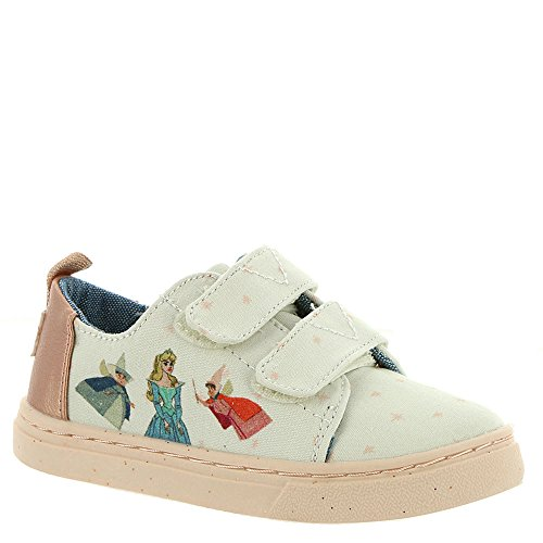 TOMS Pink Fairy Godmother Printed Canvas 10012725 Lenny Sneakers Tiny Size 6]()