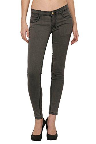 STUDIO NEXX Women #39;s Grey Slim Fit Jeans