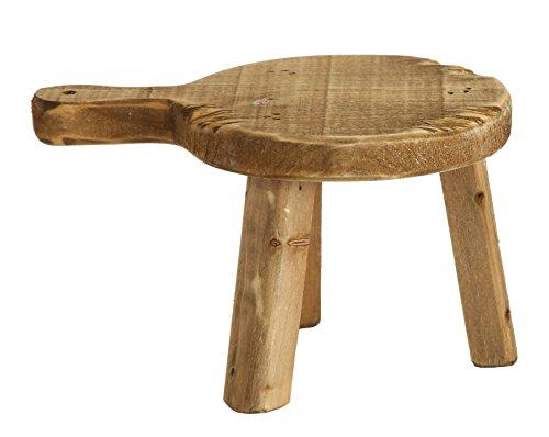 Creative Co-Op Fir Wood Pedestal